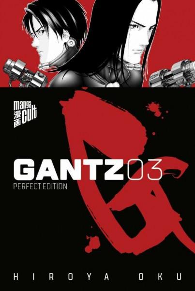 Gantz 3 Cover