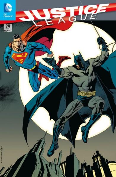 Justice League 29 Variant (75 Jahre Batman) - Comic Action 2014
