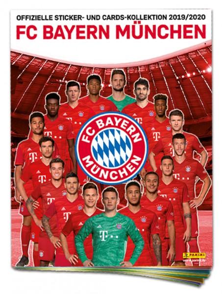 FC Bayern München: Offizielle Sticker- und Cards-Kollektion 2019/2020 - Album