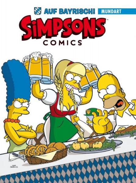 Simpsons Comics auf Bayrisch
