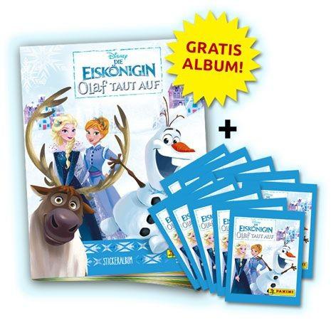 Die Eiskönigin: Olaf taut auf - Stickerkollektion - Bundle 2