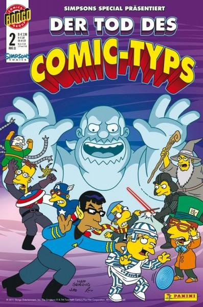 Simpsons Comics präsentiert: Der Tod des Comic-Typs 2