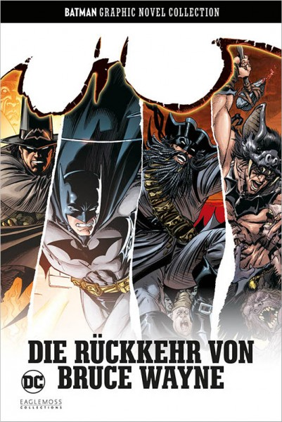Batman Graphic Novel Collection 38 Die Rückkehr von Bruce Wayne Cover