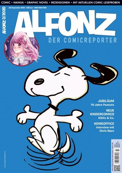 Alfonz - der Comicreporter 03/2020 Cover