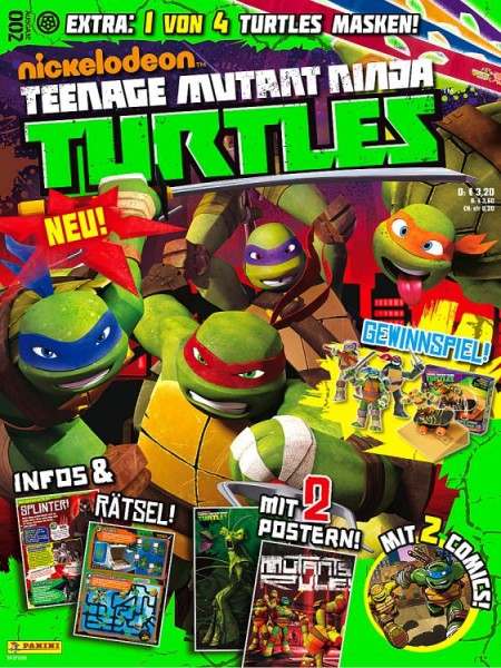 Teenage Mutant Ninja Turtles - Magazin 2