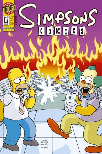 Simpsons Comics 117