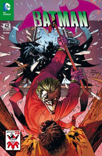 Batman 42 (2012) Joker Variant