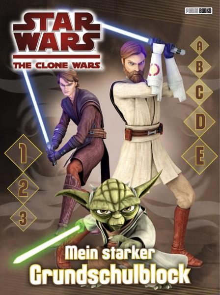 Star Wars - The Clone Wars - Mein starker Grundschulblock
