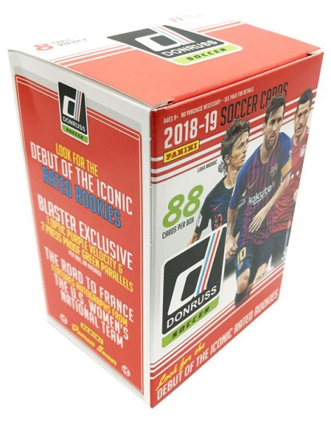 2018-19 Panini DONRUSS Soccer - Blasterbox