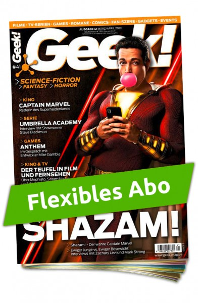 Flexibles Abo - Geek! Magazin