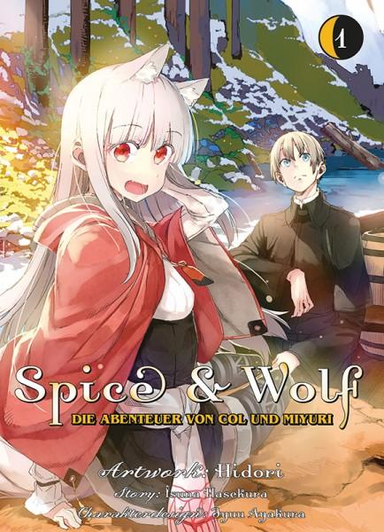 Spice Wolf: Die Abenteuer von Col und Miyuri Cover