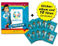 UEFA EURO 2020™ - The Official Preview Collection - Sticker - Starter-Bundle