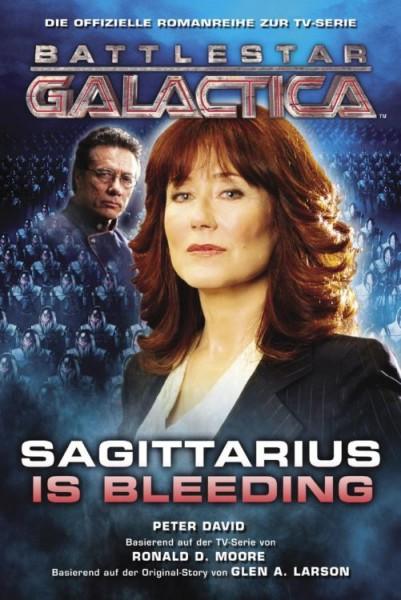 Battlestar Galactica: Sagittarius is bleeding