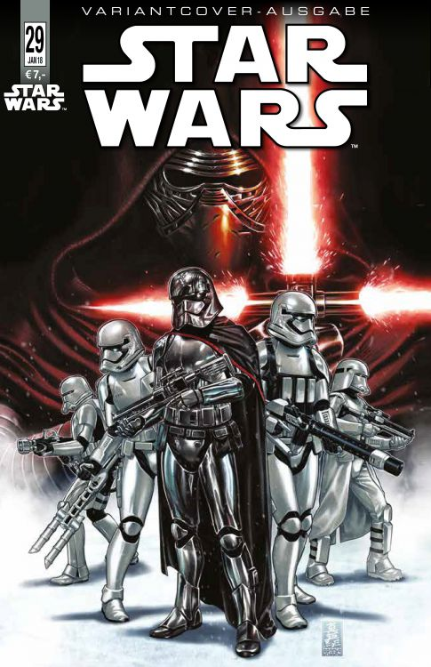 Star Wars 29 Variant - Comic Con...