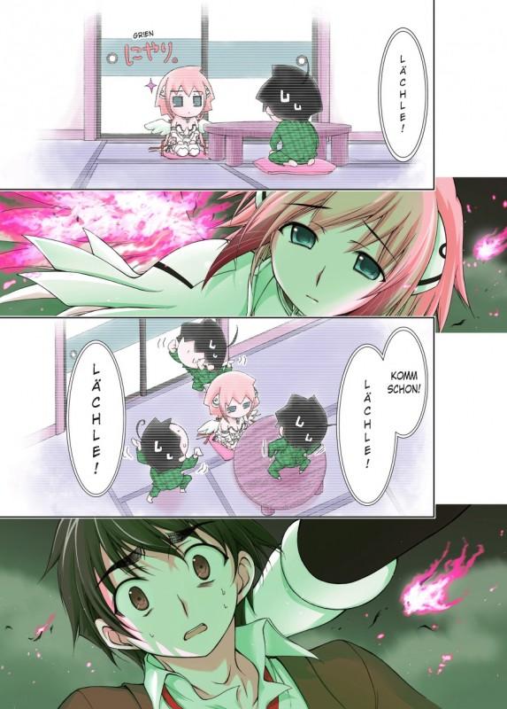 Angeloid Blick in den Manga Vorschauseite
