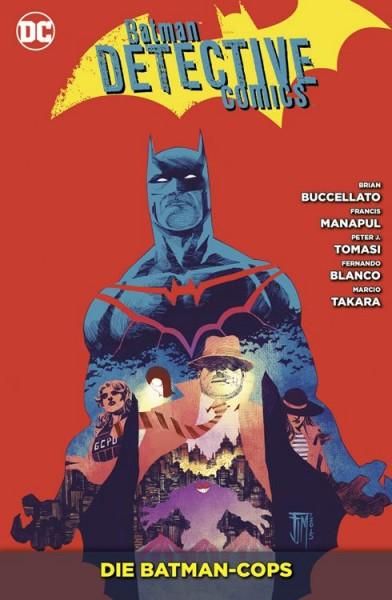 Batman Detective Comics 8: Die Batman-Cops Cover