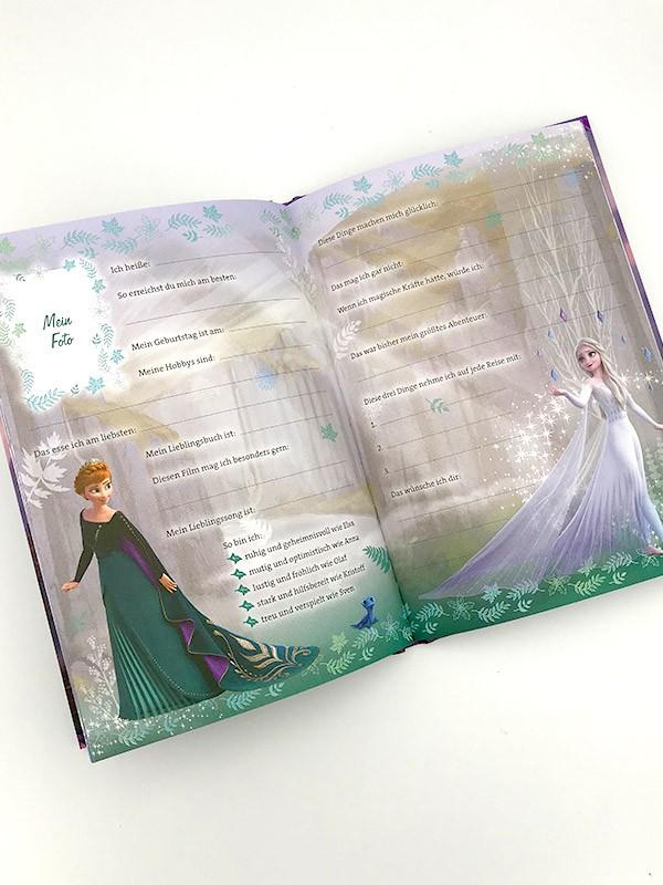 Disney Die Eiskönigin 2 - Mein Anna-Freundebuch