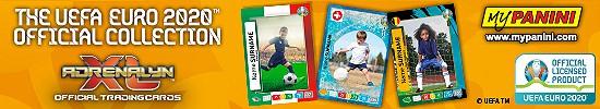 UEFA Euro 2020 Adrenalyn XL – MyPanini Banner