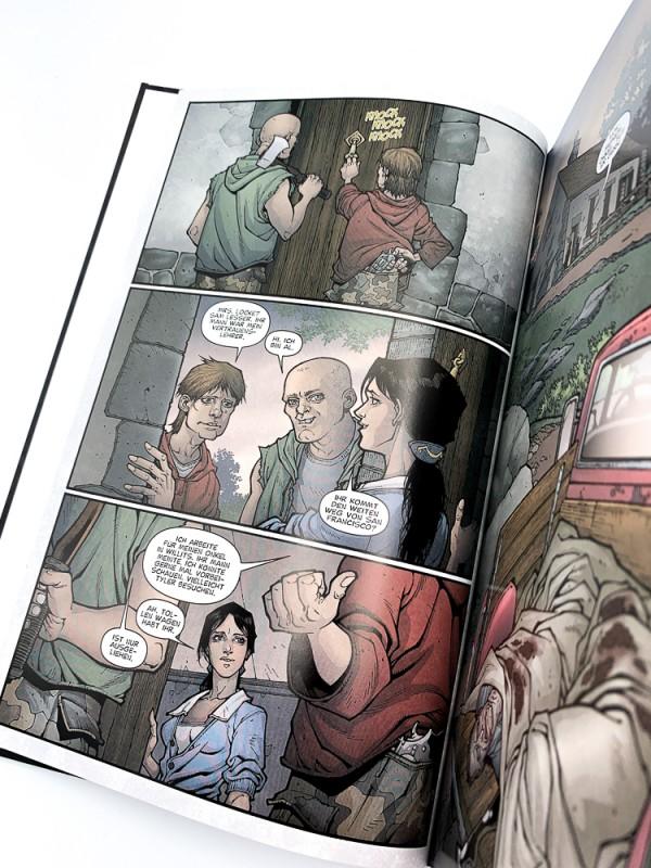 Locke & Key Blick in den Comic