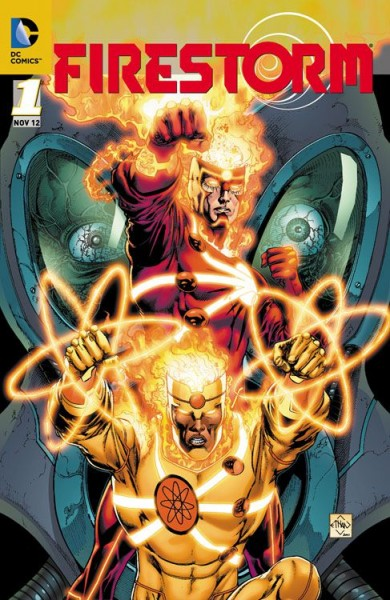 Firestorm 1 Variant - Comic Action 2012