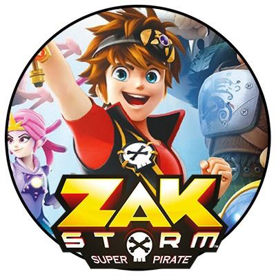 Zak Storm Minibanner Kids