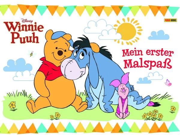 Disney: Winnie Puuh - Mein erster Malspaß Cover