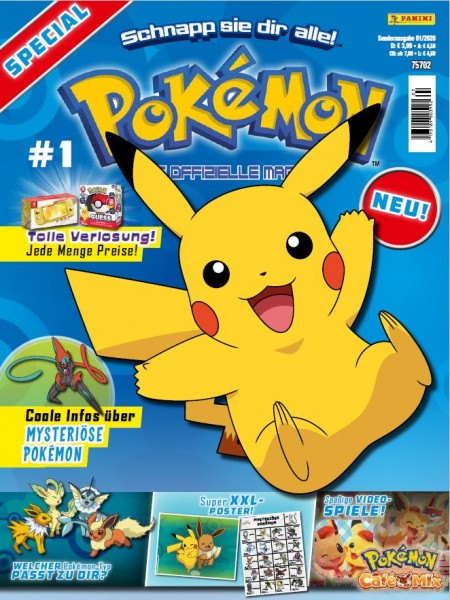 Pokémon Magazin Special 01/20 Cover