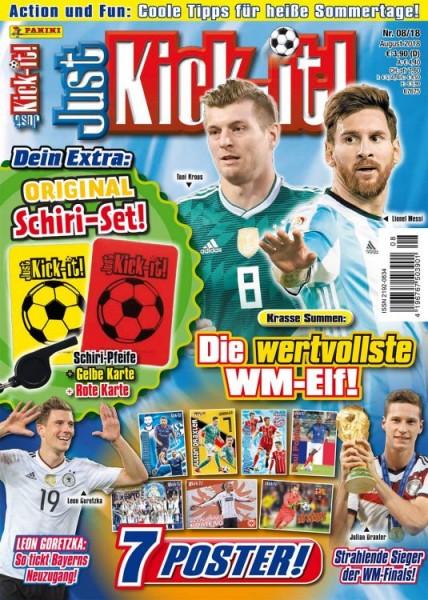 Just Kick-It! Magazin 08/18