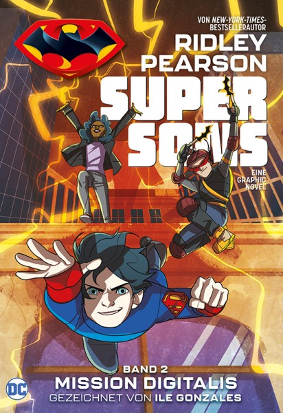 Super Sons 2: Mission Digitalis Cover