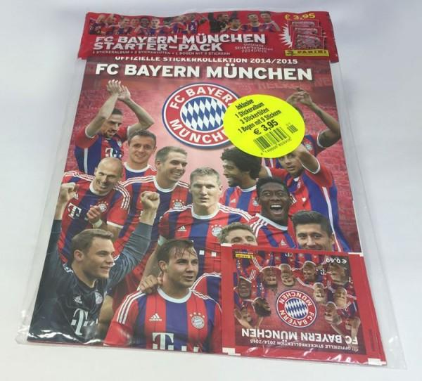 Bayern München Sticker-Kollektion 2014/15 - Starterset