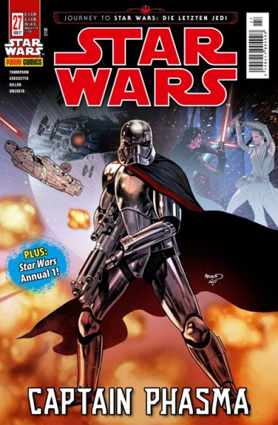 Star Wars 27: Captain Phasma; Star Wars Annual 1 (Kiosk Ausgabe)