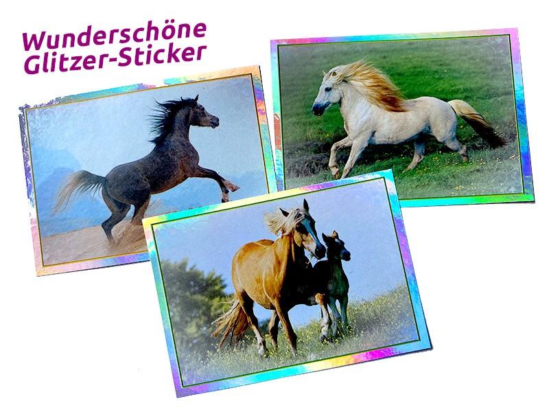 Pferde - Eine Reise durch die Welt der Farben Sticker