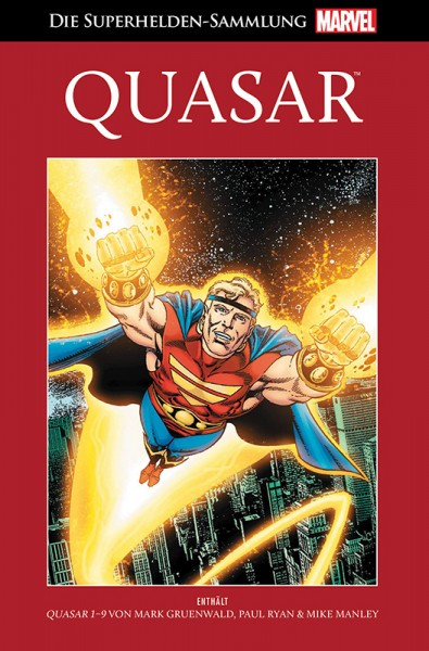 Die Marvel Superhelden Sammlung Band 81: Quasar Cover