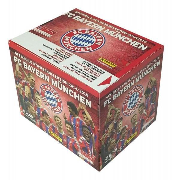 Bayern München Sticker-Kollektion 2014/15 - Box mit 50 Tüten