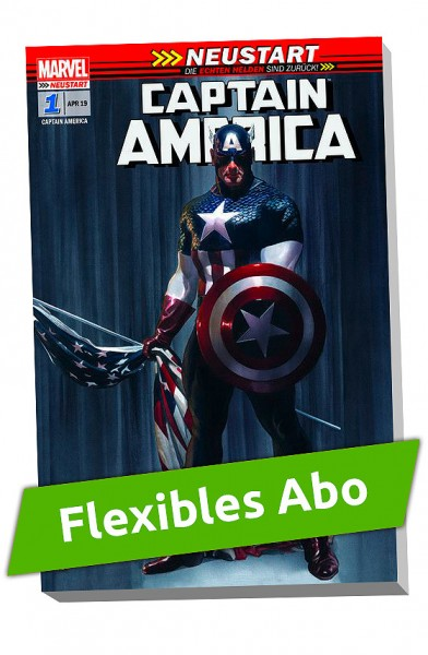 Flexibles Abo - Captain America