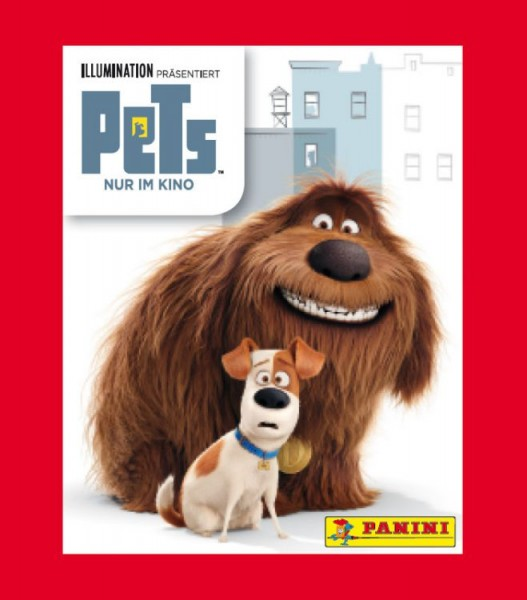 Pets Movie Stickerkollektion - 1 Tüte