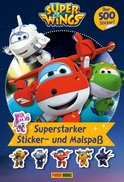 Super Wings - Superstarker Sticker- und Malspaß Cover