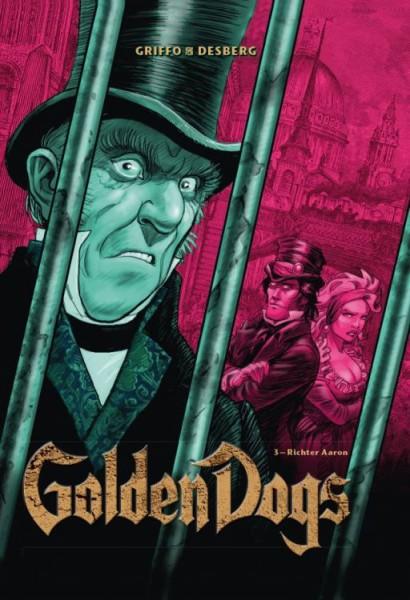 Golden Dogs: Die Meisterdiebe von London 3 - Richter Aaron