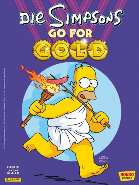 Simpsons: Go for Gold