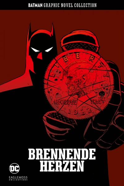 Batman Graphic Novel Collection 50: Brennende Herzen Cover