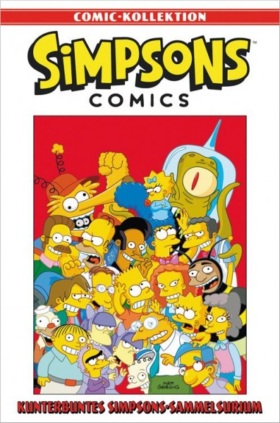 Simpsons Comic-Kollektion 36: Kunterbuntes Simpsons-Sammelsurium Cover