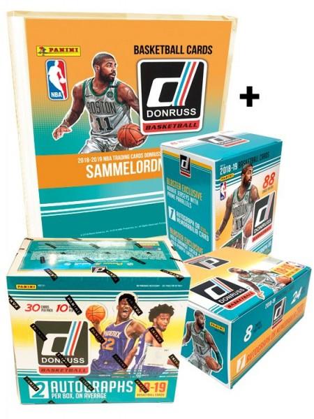 NBA 2018-2019 DONRUSS Trading Cards - Fastbreak-Bundle