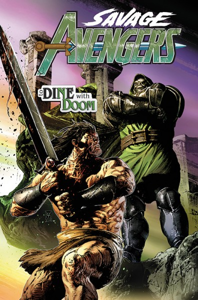 Savage Avengers 2 Cover