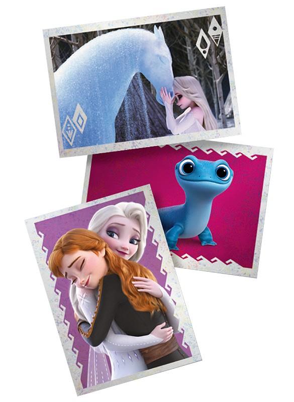 Disney: Die Eiskönigin 2 - Cristal Edition - Sticker und Cards - Beispiel Cards Elsa