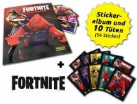 Fortnite Reloaded - Black Frame Series - Sticker - Schnupperbundle