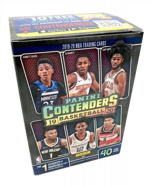 NBA 2019-20 Contenders Trading Cards - Blasterbox
