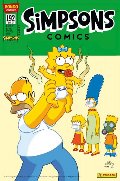 Simpsons Comics 192