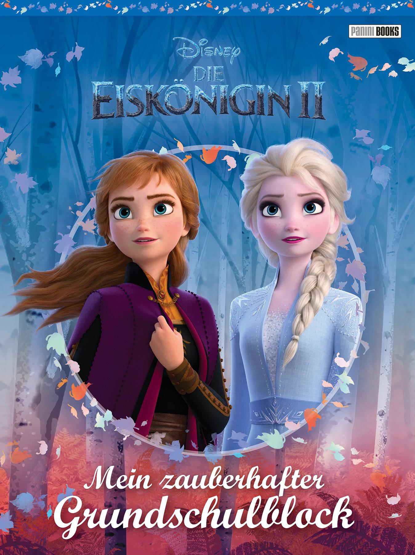 Disney Eiskönigin 2 - Mein zauberhafter Grundschulblock