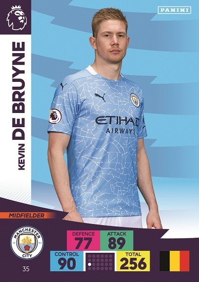 Panini Premier League Adrenalyn XL 2020/21 - Kevin de Bruyne