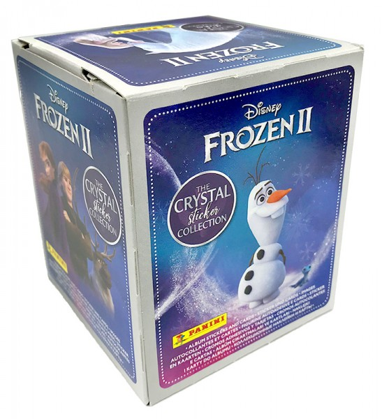 Disney: Die Eiskönigin 2 - Cristal Edition - Sticker und Cards - Box mit 50 Tüten